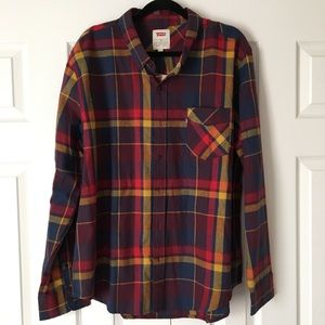 Levi's Flannel Button Down Shirt